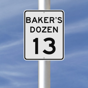 A Baker's Dozen of Things to Master